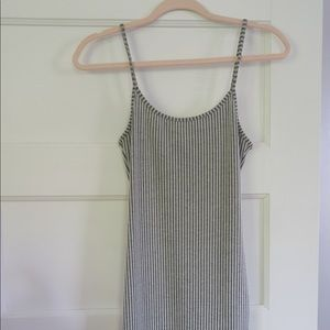 Urban Outfitters Stripped Tight Dress